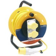 DRAPER 25M 16A 110V Industrial Cable Reel: Model No.DCR25/110A