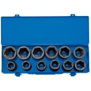 "3/4"" Sq. Dr. Combined MM/AF Impact Socket Set in Metal Case (12 Piece): Model No. 419/12"