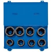 "3/4"" Sq. Dr. Metric Deep Impact Socket Set in Metal Case (8 Piece): Model No. 419D/8/MM"