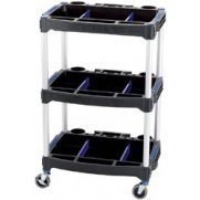 DRAPER 3 Tier Workshop Trolley: Model No.WST-2