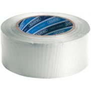 DRAPER 30M x 50mm White Duct Tape Roll: Model No.TP-DUCT/W/A
