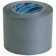 DRAPER 33M x 100mm Grey Duct Tape Roll: Model No.TP-DUCT/A