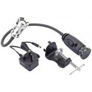DRAPER 3W LED Flexible Work Lamp (2 x AAA Batteries): Model No.WLFN1