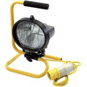 DRAPER 400W 110V Halogen Worklamp: Model No.HL400FAC