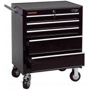 DRAPER 5 Drawer Roller Cabinet : Model No.RC5B/BK