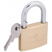 DRAPER 50mm Brass Cylinder Padlock : Model No.RL-PL