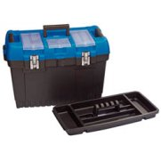 DRAPER 560mm Jumbo Tool Box with Tote Tray: Model No.TB564D