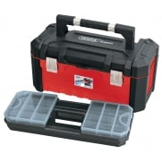 DRAPER 585mm Tool Box with Organisers and Tote Tray: Model No. TB585HD