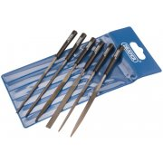 DRAPER 6 Piece 140mm Needle File Set: Model No. 4883/6D