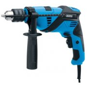 DRAPER 600W 230V Hammer Drill: Model No.PT600ID