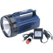 DRAPER 6V Rechargeable ABS Halogen Torch/Lantern