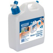 DRAPER 9.5L Water Container with Tap: Model No.PWB9.5