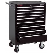 DRAPER 9 Drawer Roller Cabinet : Model No.RC9B/BK