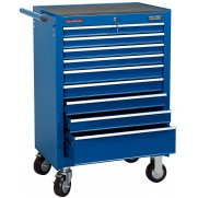DRAPER 9 Drawer Roller Cabinet : Model No.RC9B/BL