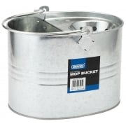 DRAPER 9L Galvanised Mop Bucket: Model No. GMB