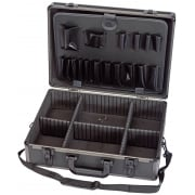 DRAPER Aluminium Tool Case (Black Finish): Model No. TC9E/B