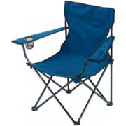 DRAPER Blue Folding Chair: Model No.FC1B