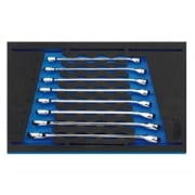 Combination Spanner Set in 1/4 Drawer EVA Insert Tray (8 Piece): Model No. IT-EVA39