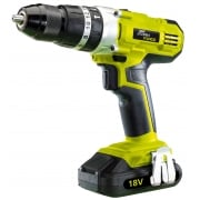 DRAPER Cordless Hammer Drill with Two 18V 1.5Ah Li-ion Battery: Model No. *CDH22LI(SF)