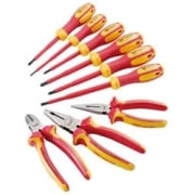 Ergo Plus VDE Approved Fully Insulated Plier and Screwdriver Set (9 Piece): Model No. 700SET1