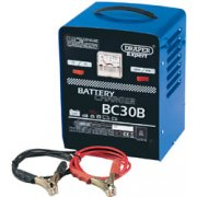 DRAPER Expert 12V/24V 20A Battery Charger: Model No.BC30B
