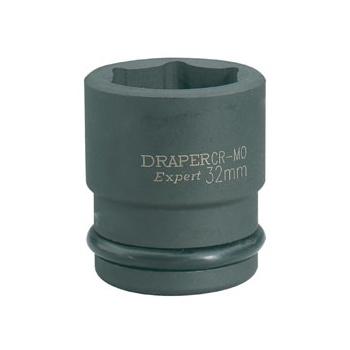 DRAPER Expert 18mm 3/4in. Square Drive Hi-Torq ; 6 Point Impact Socket: Model No.419-MM