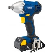 "DRAPER Expert 18V Cordless 1/2"" Sq. Dr. Impact Wrench: Model No. CIW18LI"