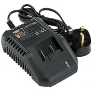 DRAPER Expert 18V Universal Battery Charger for Li-Ion and Ni-Cd Battery Packs: Model No. C18UBA