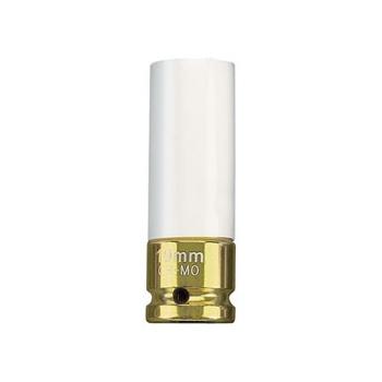 DRAPER Expert 19mm 1/2in. Sq. Dr. HI-TORQ ; Wheel Nut Socket for Alloy Wheels: Model No.AWNS/19MM