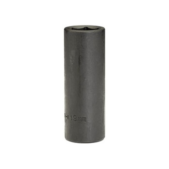 DRAPER Expert 19mm 1/2in. Square Drive Deep Impact Socket: Model No.410D-MM