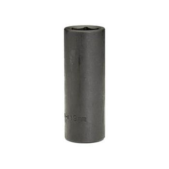 DRAPER Expert 19mm 1/2in. Square Drive Deep Impact Socket (Sold Loose): Model No.410D-MMB