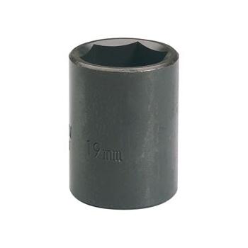 DRAPER Expert 19mm 1/2in. Square Drive Impact Socket: Model No.410MM