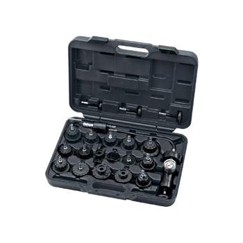 DRAPER Expert 20 Piece Radiator Pressure Test Kit: Model No.RPT1