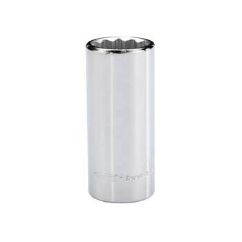 DRAPER Expert 20mm 3/8in. Square Drive Hi-Torq ; 12 Point Deep Socket (Sold Loose): Model No.DT-MMB