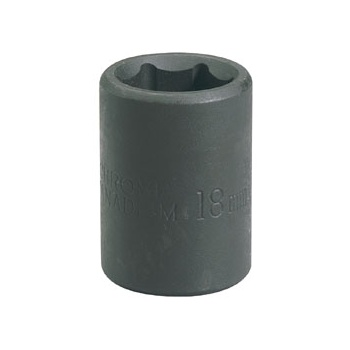 DRAPER Expert 21mm 1/2in. Square Drive Impact Socket: Model No.410MM