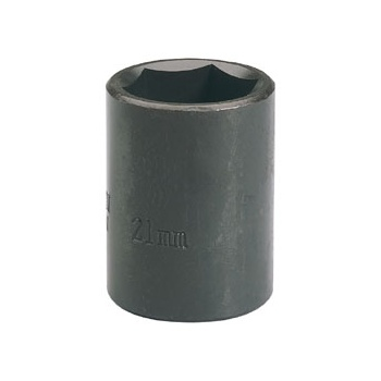 DRAPER Expert 21mm 1/2in. Square Drive Impact Socket (Sold Loose): Model No.410MMB