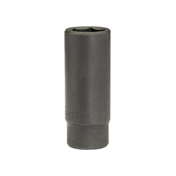 DRAPER Expert 22mm 1/2in. Square Drive Deep Impact Socket: Model No.410D-MM