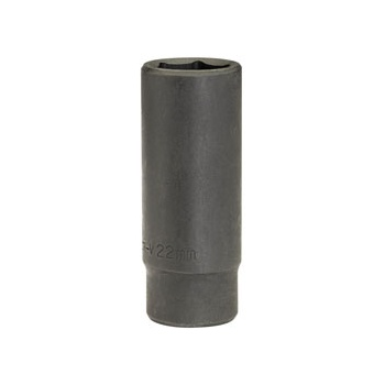 DRAPER Expert 22mm 1/2in. Square Drive Deep Impact Socket (Sold Loose): Model No.410D-MMB
