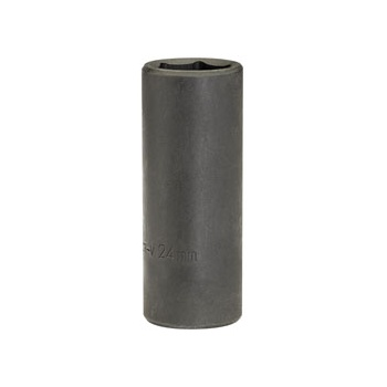 DRAPER Expert 24mm 1/2in. Square Drive Deep Impact Socket (Sold Loose): Model No.410D-MMB