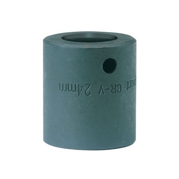 DRAPER Expert 24mm 1/2in. Square Drive Impact Socket (Sold Loose): Model No.410MMB
