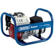 DRAPER Expert 3.5kVA/2.8kW Petrol Generator: Model No.PG3500R