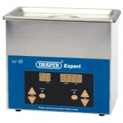 DRAPER Expert 3L Ultrasonic Cleaning Tank: Model No.UCT3L