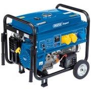 DRAPER Expert 4.0kVA/3.5kW Petrol Generator: Model No.PG42W