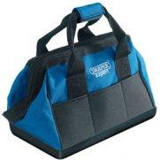DRAPER Expert 420mm Tool Bag with Heavy Duty Plastic Base: Model No.TBMHB