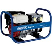 DRAPER Expert 5.0kVA/4.0kW Petrol Generator: Model No.PG5000R
