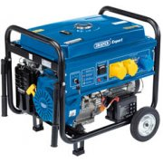 DRAPER Expert 5.5kVA/5.0kW Petrol Generator: Model No.PG57W