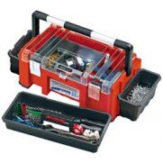 DRAPER Expert 510mm Tool Box with Side Organisers and Tote Tray: Model No.TB511