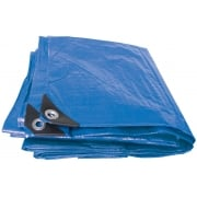 DRAPER Expert 5M x 8M Heavy Duty Polyethylene Tarpaulin: Model No. TAR/HD3