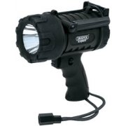 DRAPER Expert 5W CREE LED Waterproof Torch (3 x AA Batteries): Model No.WPHT5