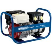 DRAPER Expert 7.5kVA/6.0kW Petrol Generator: Model No.PG7500R